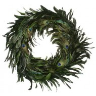 Peacock Feather Wreath - 14-18