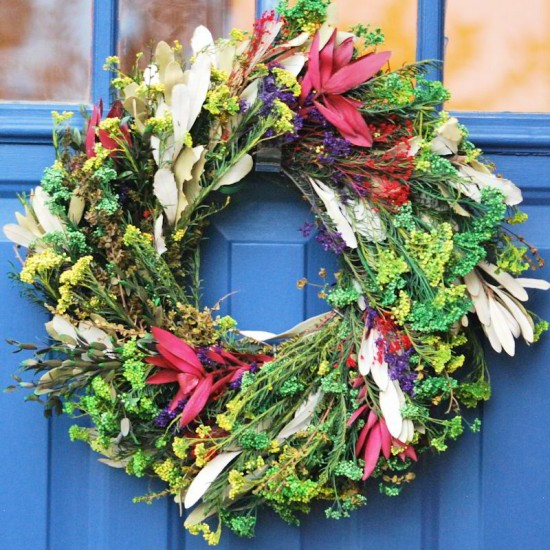 Preserved Bloom Wreath